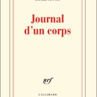 """Journal d'un corps"", Daniel PENNAC"