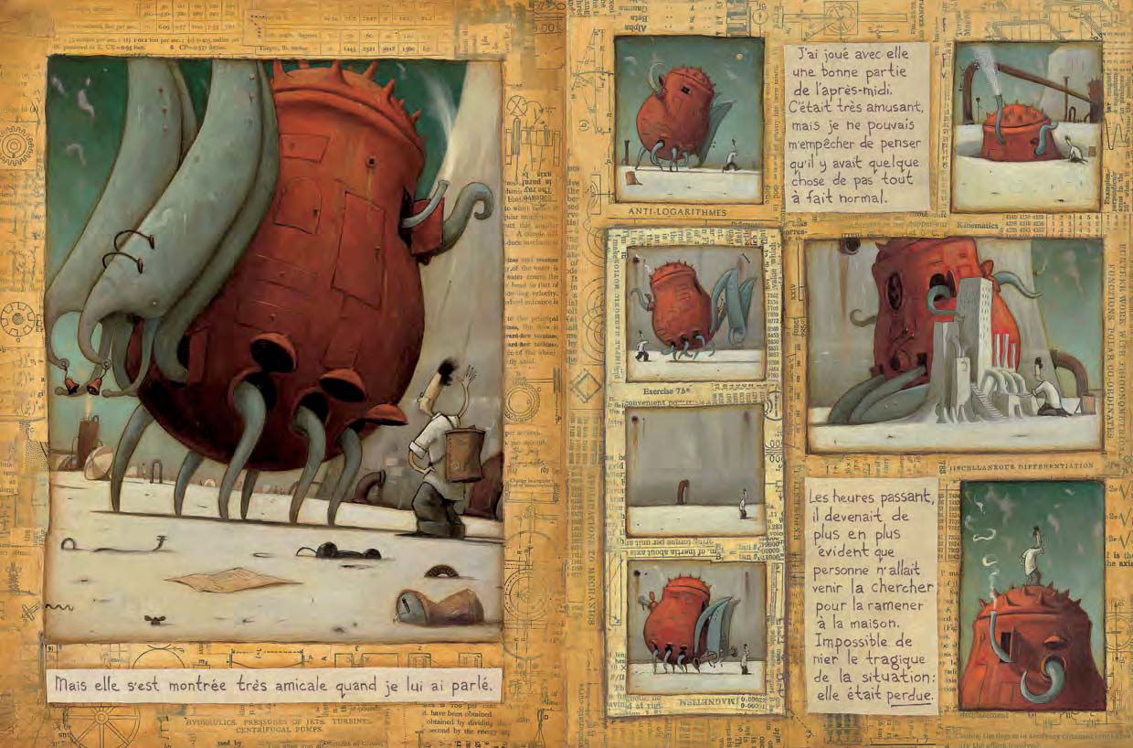 the lost thing by shaun tan The lost thing the lost thing is a humorous story about a boy who discovers a bizarre-looking creature while out collecting bottle-tops at a beach having.