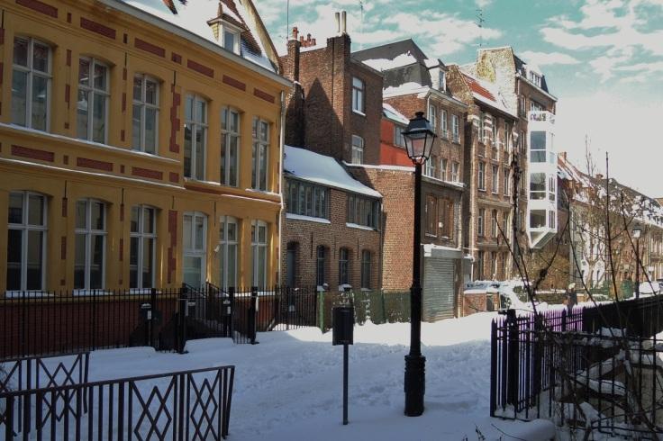 Une rue tranquille (rue de Weppes)