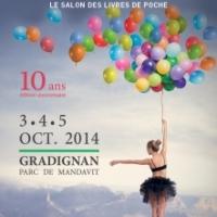 Salon LIRE EN POCHE à Gradignan (samedi 4 octobre 2014)
