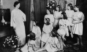 Isadora et ses élèves