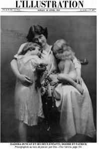 Isadora et ses enfants L'Illustration