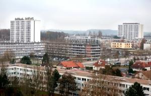 Metz Borny (j'y ai vécu deux ans quand j'avais 15 ans), photo du Républicain Lorrain