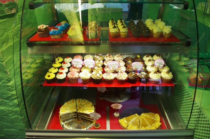 Greenish cupcakes