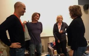 Marin Ledun, Marcus Malte et Florence Aubenas