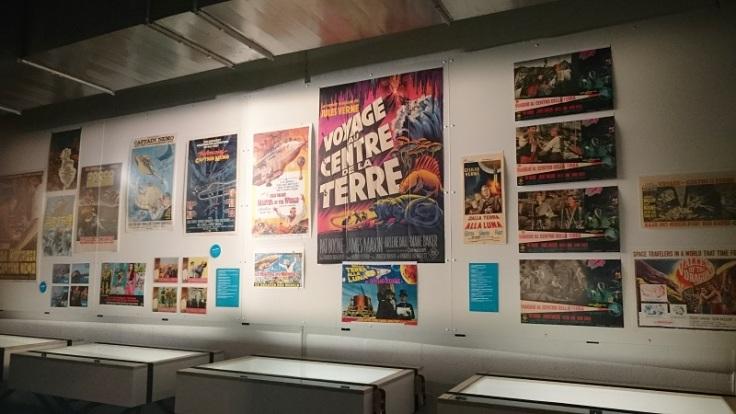 Exposition Jules Verne Grand Ecran au Lieu Unique