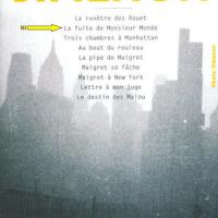 """""""La fuite de monsieur Monde"""", Georges SIMENON"""