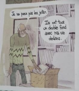 (pourquoi il nous est si difficile de trier nos livres !)